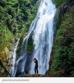 7 Air Terjun Terindah di Padang Sidempuan - Air Terjun Silima-lima