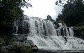 7 Air Terjun Terindah di Padang Sidempuan - Air Terjun Sampuran Damdolok Damparan