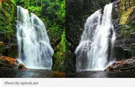 7 Air Terjun Terindah di Padang Sidempuan - Air Terjun Siondop