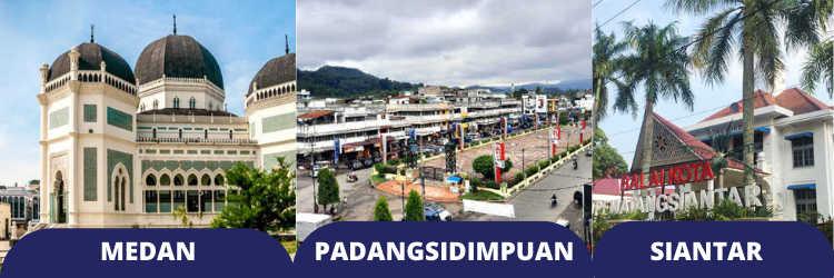 Cek Harga Tiket Taksi Bus Travel Medan Padang Sidempuan